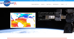 The MY NASA DATA Website